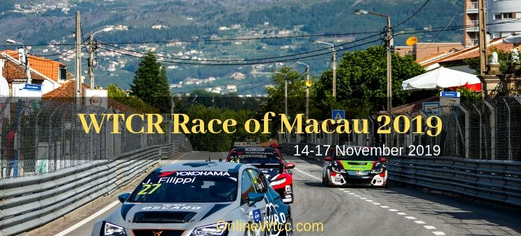 WTCR Race of Macau 2018 Live