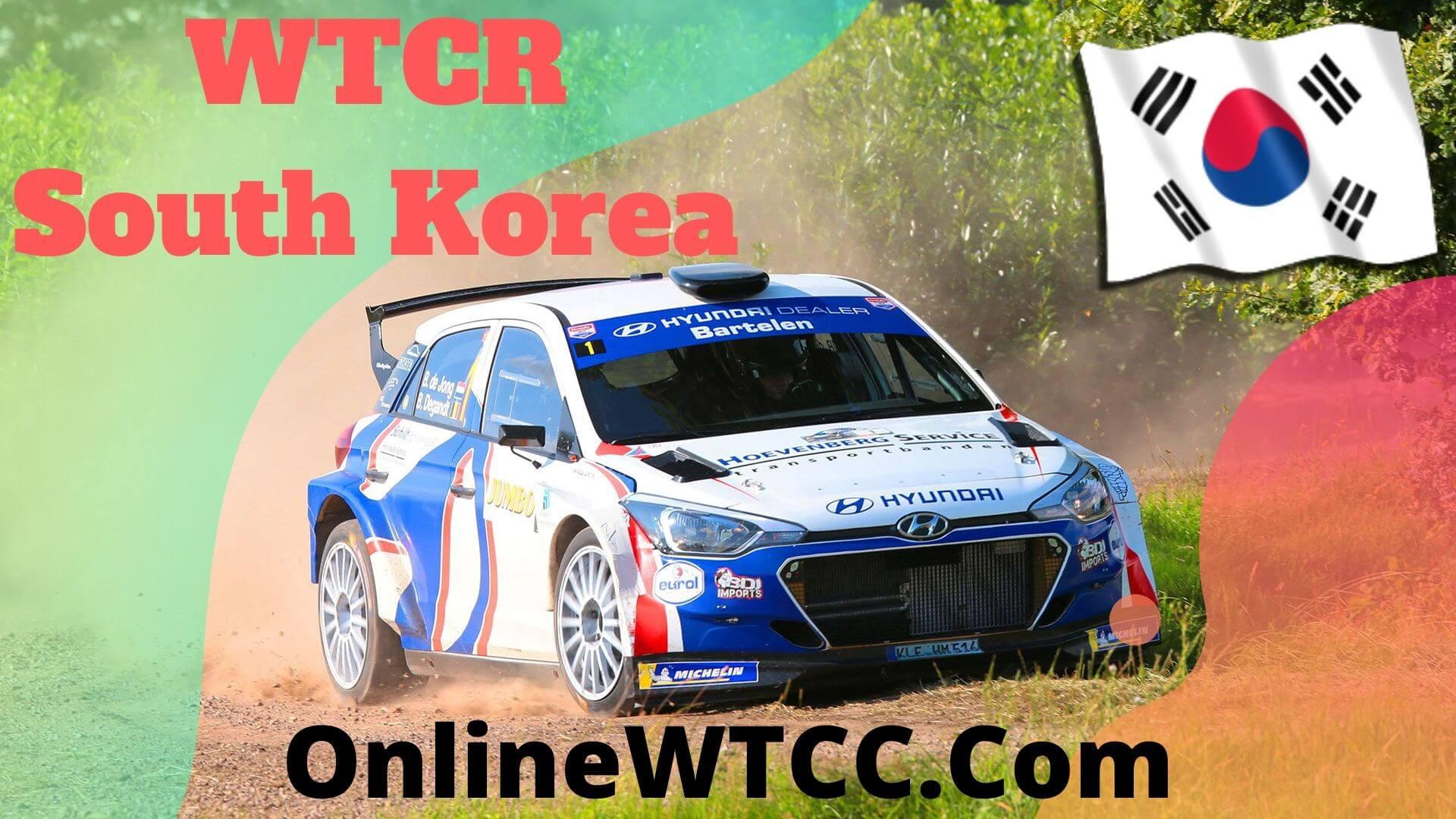 South Korea WTCR Live Stream 2020 | Inje Speedium