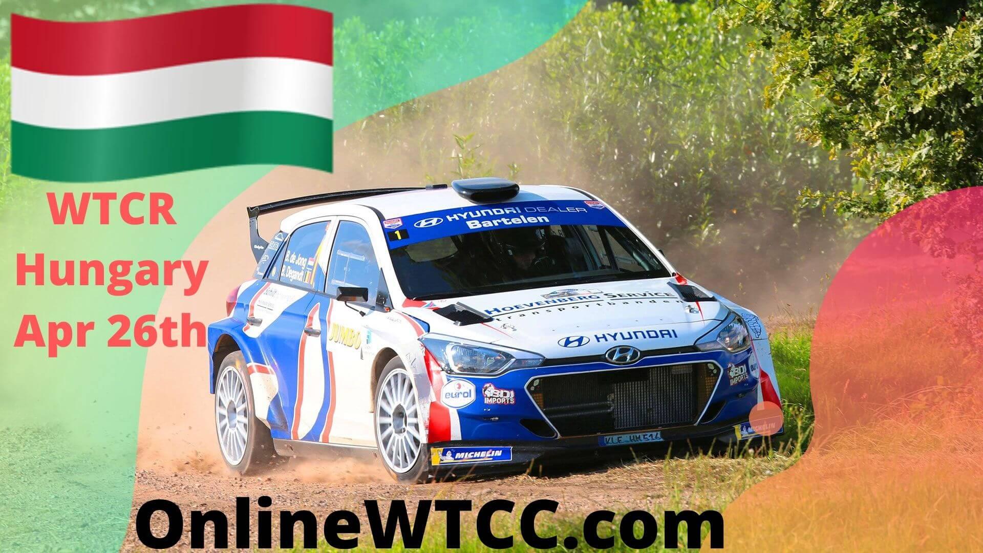 Hungary WTCR Live Stream 2020 | Hungaroring