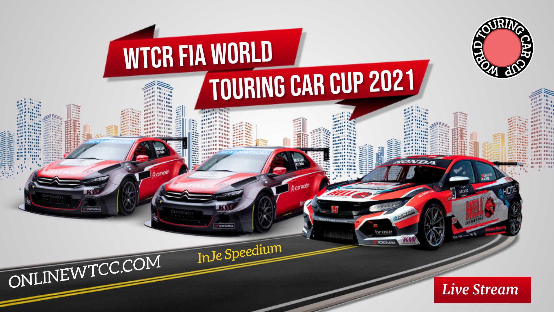South Korea WTCR 2021 Live Stream | Round 12