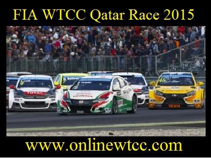 FIA WTCC Qatar Race 2015
