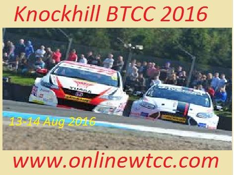 Knockhill BTCC 2016 live stream
